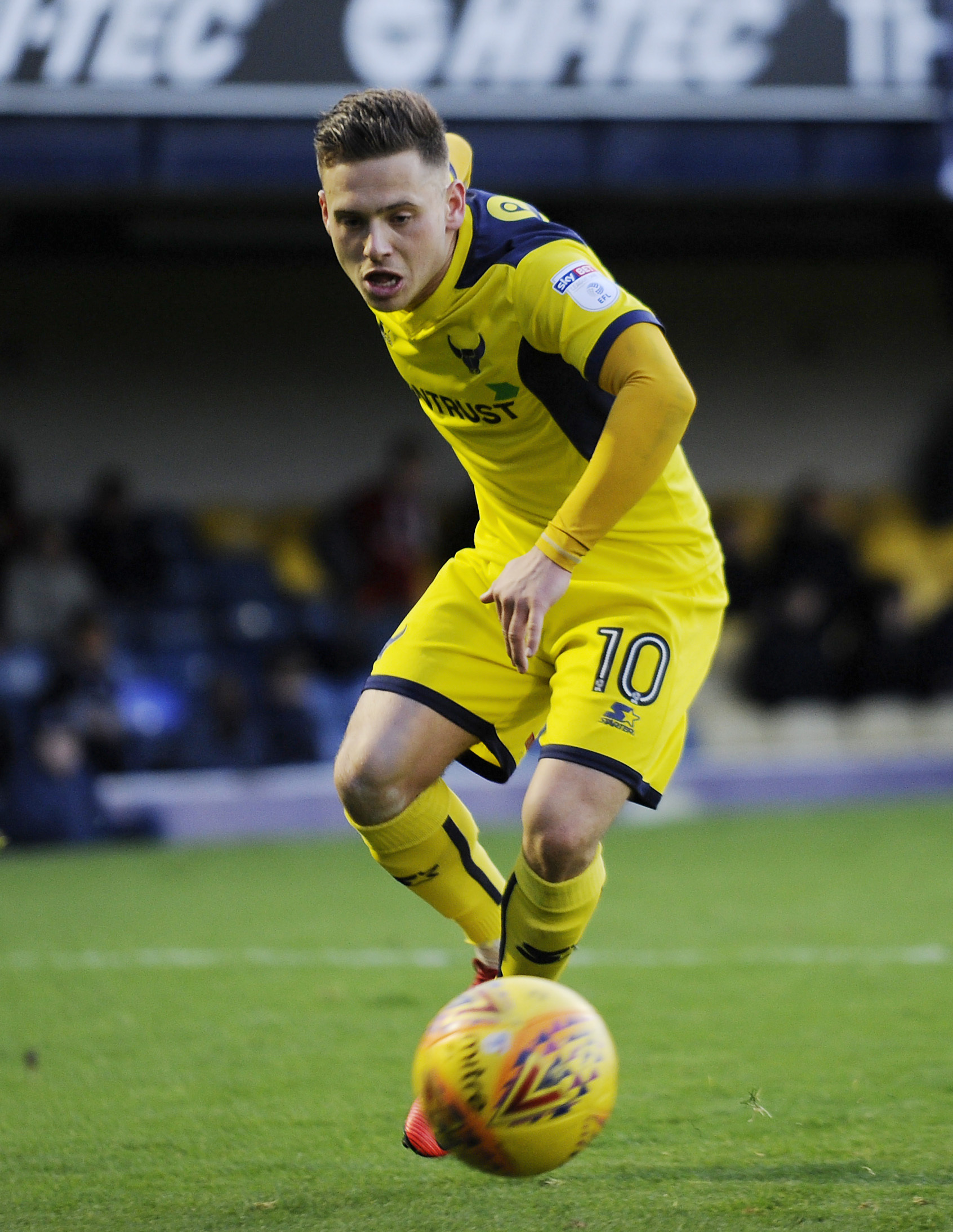 Southend Utd  V Oxford Utd. .Jack Payne for Oxford..Picture by: David Fleming..Picture by: David Fleming.