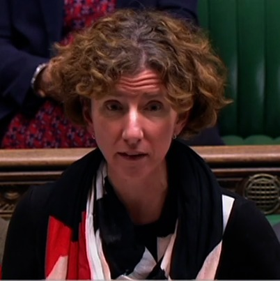 Anneliese Dodds in the House of Commons on Tuesday