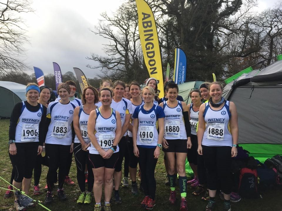 Witney's runners at the second round of the Oxford Mail Cross Country League Picture: Sharon Empson Moore.