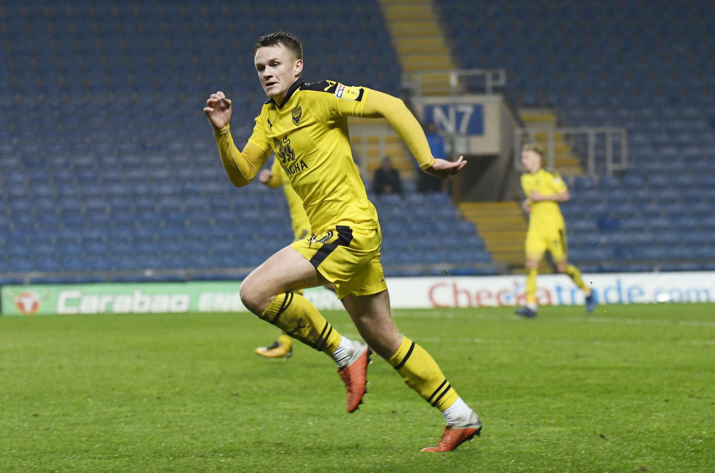 Armani Little has made two senior appearances for Oxford United Picture: David Fleming