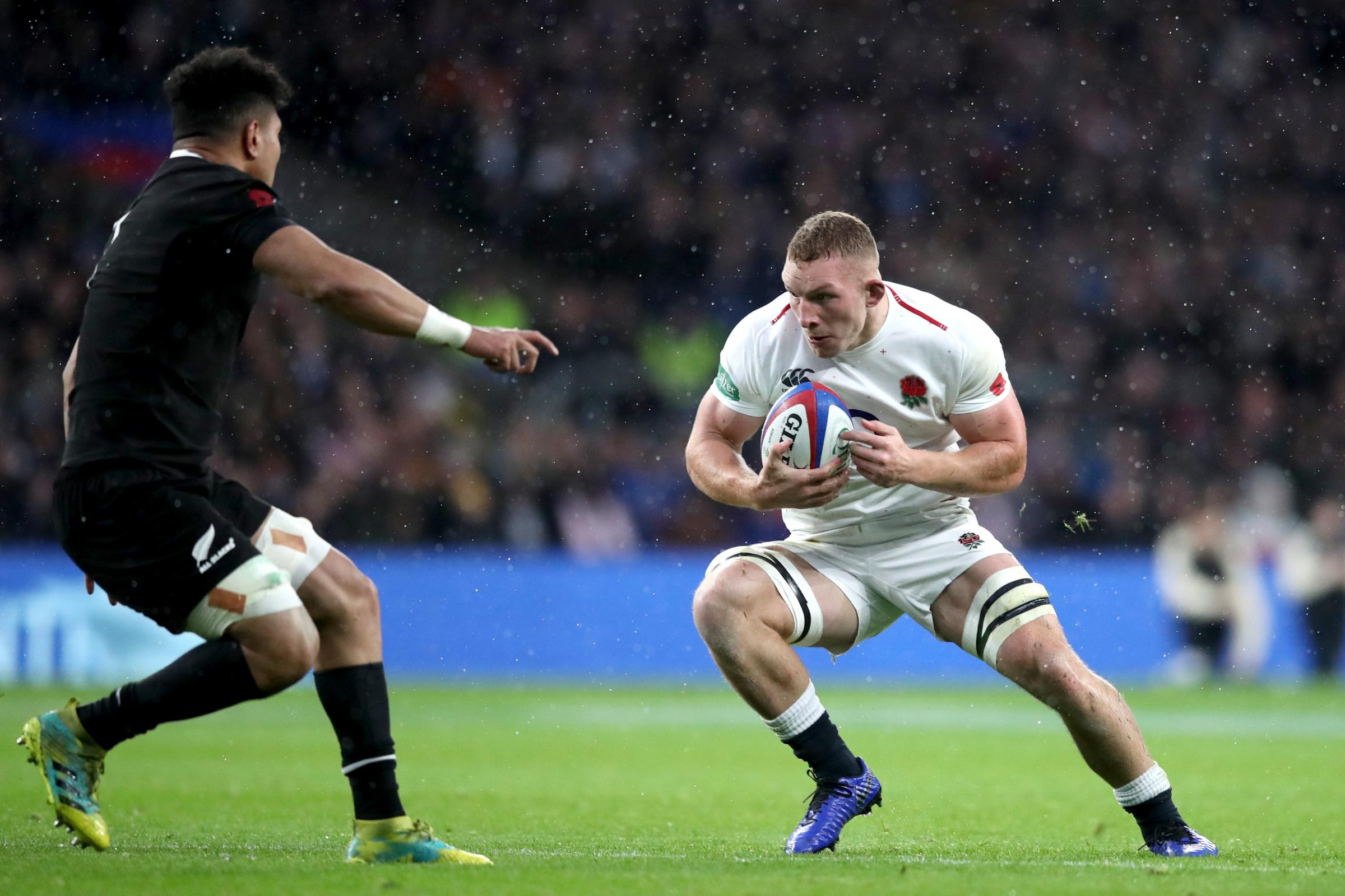 England v New Zealand – Quilter International – Twickenham Stadium