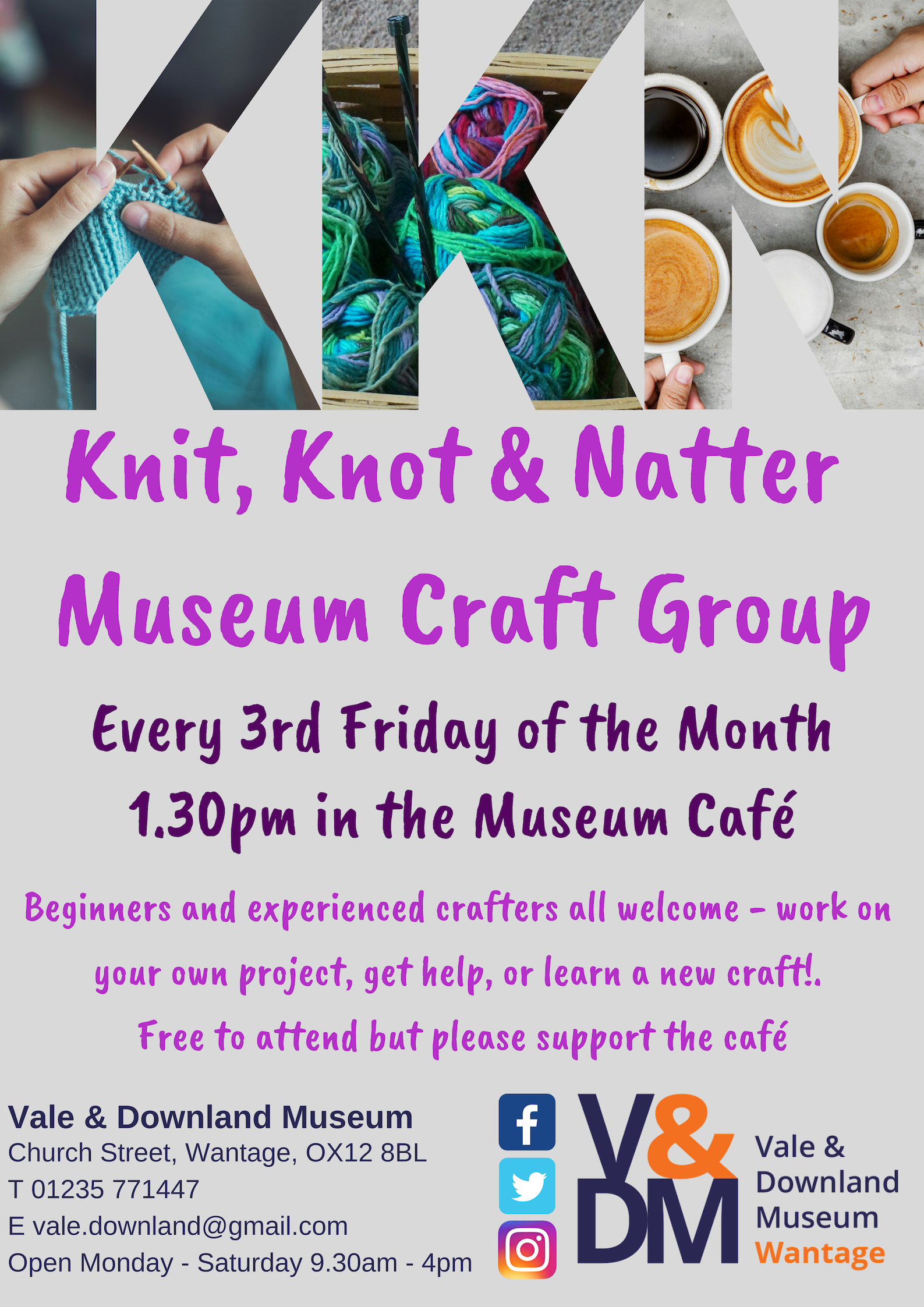 Knit, Knot & Natter Craft Group
