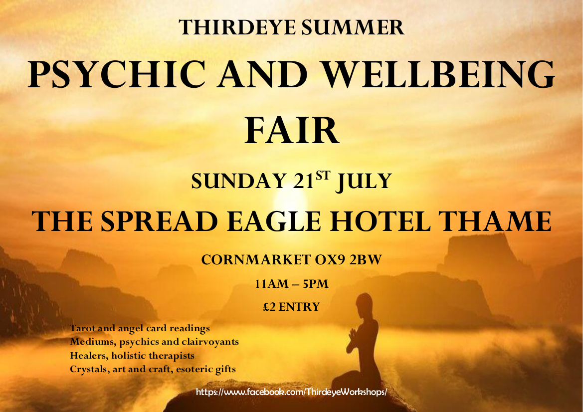 Thame Psychic & Wellbeing Summer Fair