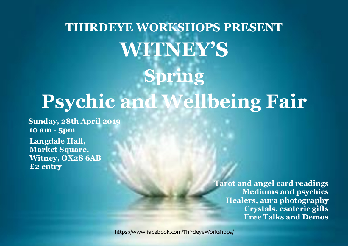 Witney's Spring Psychic & Wellbeing Fair