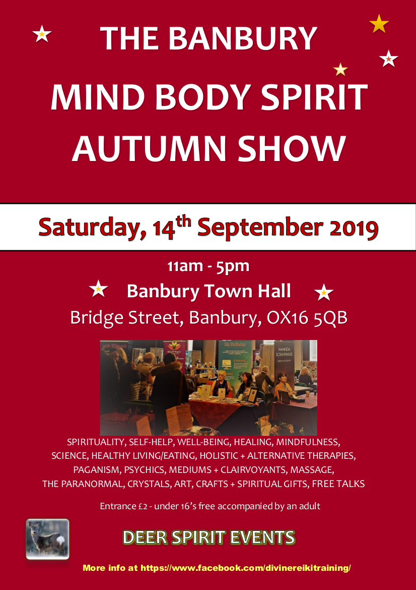The Banbury Mind Body Spirit Autumn Show