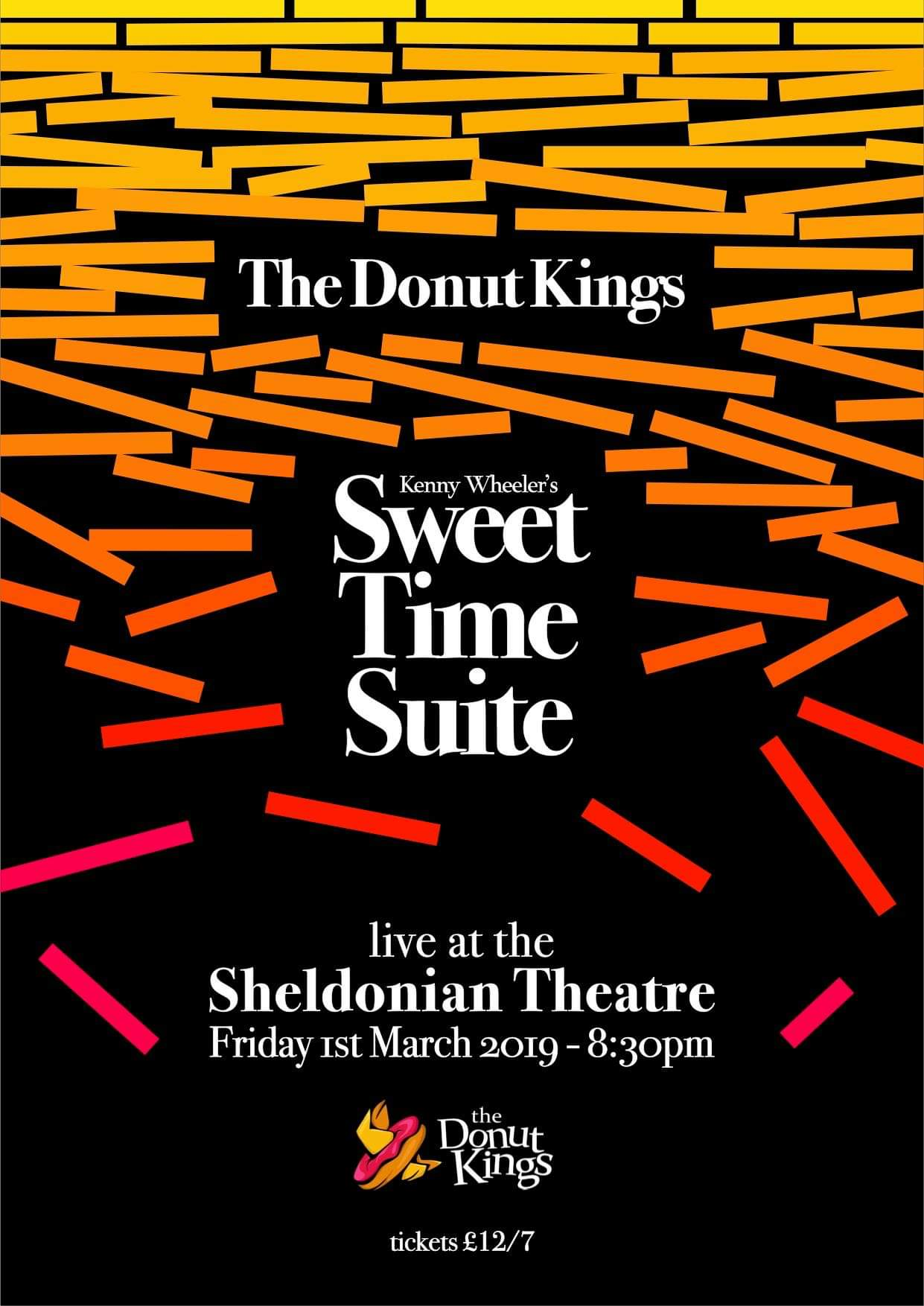 The Donut Kings: 'Sweet Time Suite' (K. Wheeler)