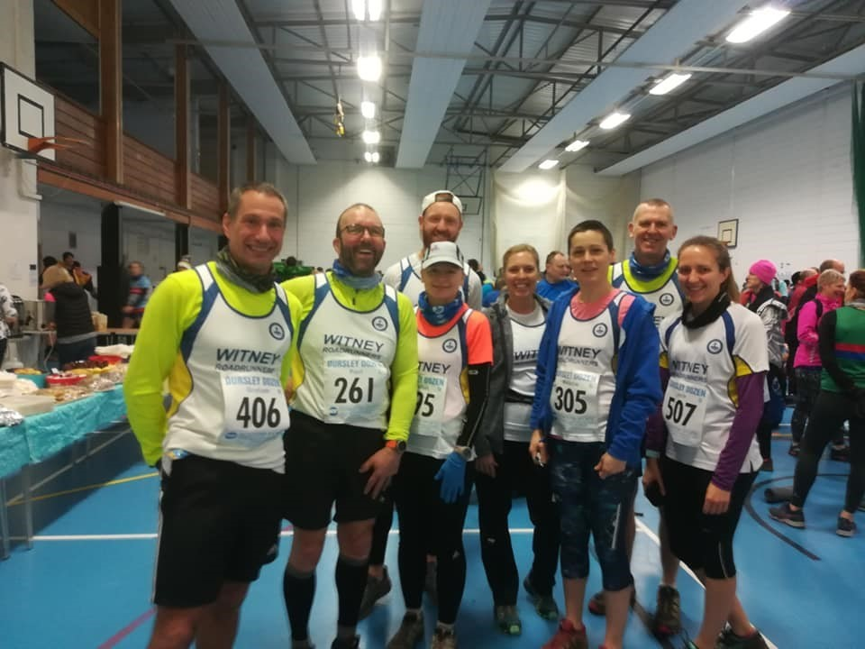 Witney Roadrunners at the Dursley Dozen