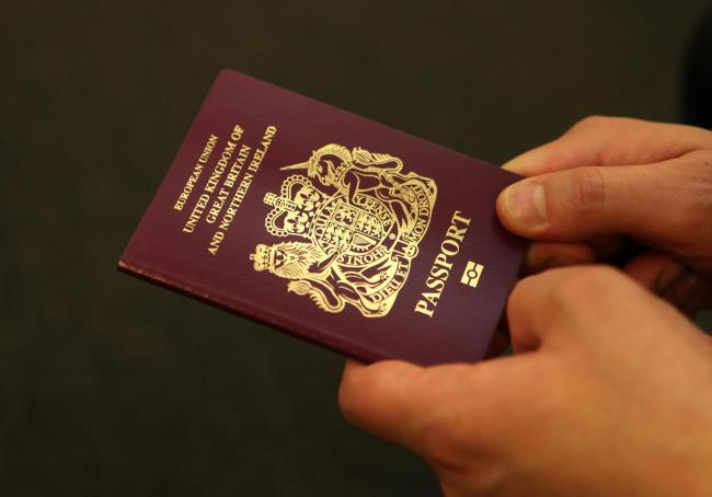 File photo dated 08/10/10 of a British passport, as the number of EU nationals applying for British citizenship has nearly doubled in the wake of the Brexit vote, official statistics reveal. PRESS ASSOCIATION Photo. Issue date: Friday August 25, 2017. The