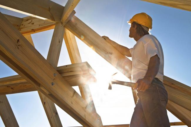 A Generic Photo of a builder working on a new home. Picture: PA Photo/thinkstockphotos.