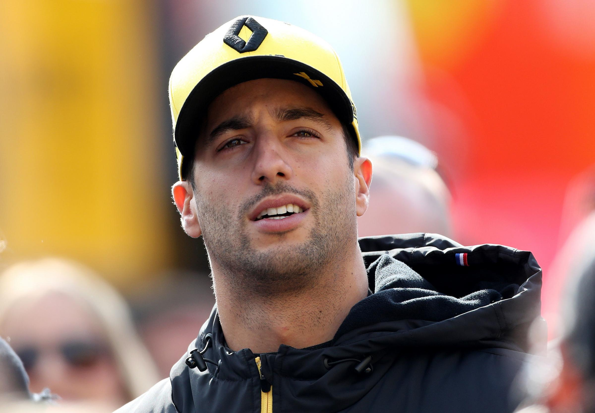 Daniel Ricciardo is excited to make his Renault debut in Australia on Sunday Picture: David Davies/PA Wire