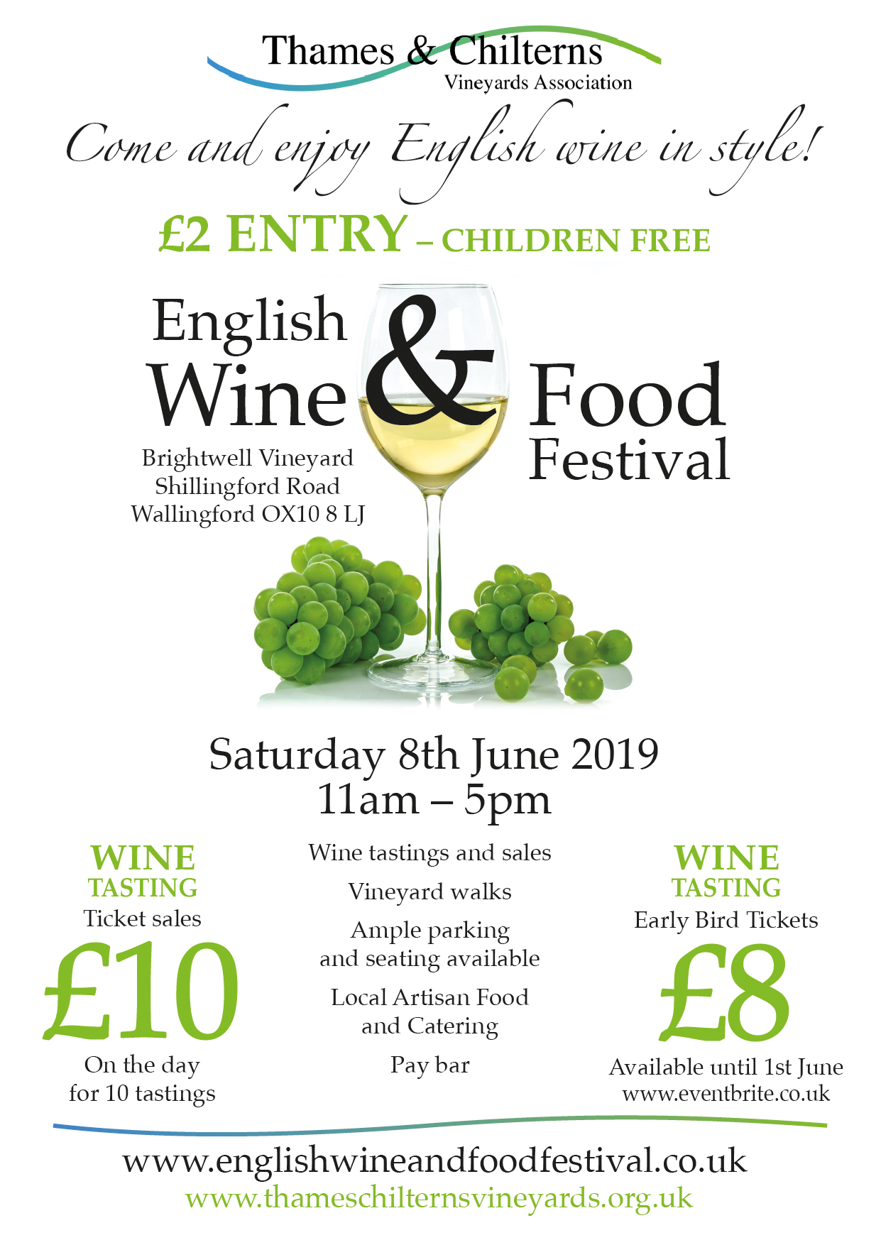 Thames & Chilterns Vineyards Association English Wine & Food Festival