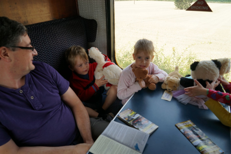 Teddy Bear Days Steam KIDS FREE at Chinnor & Princes Risborough Railway