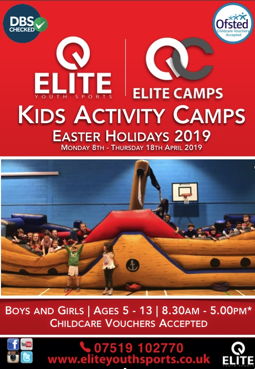 Elite Sports Easter Holiday Camp