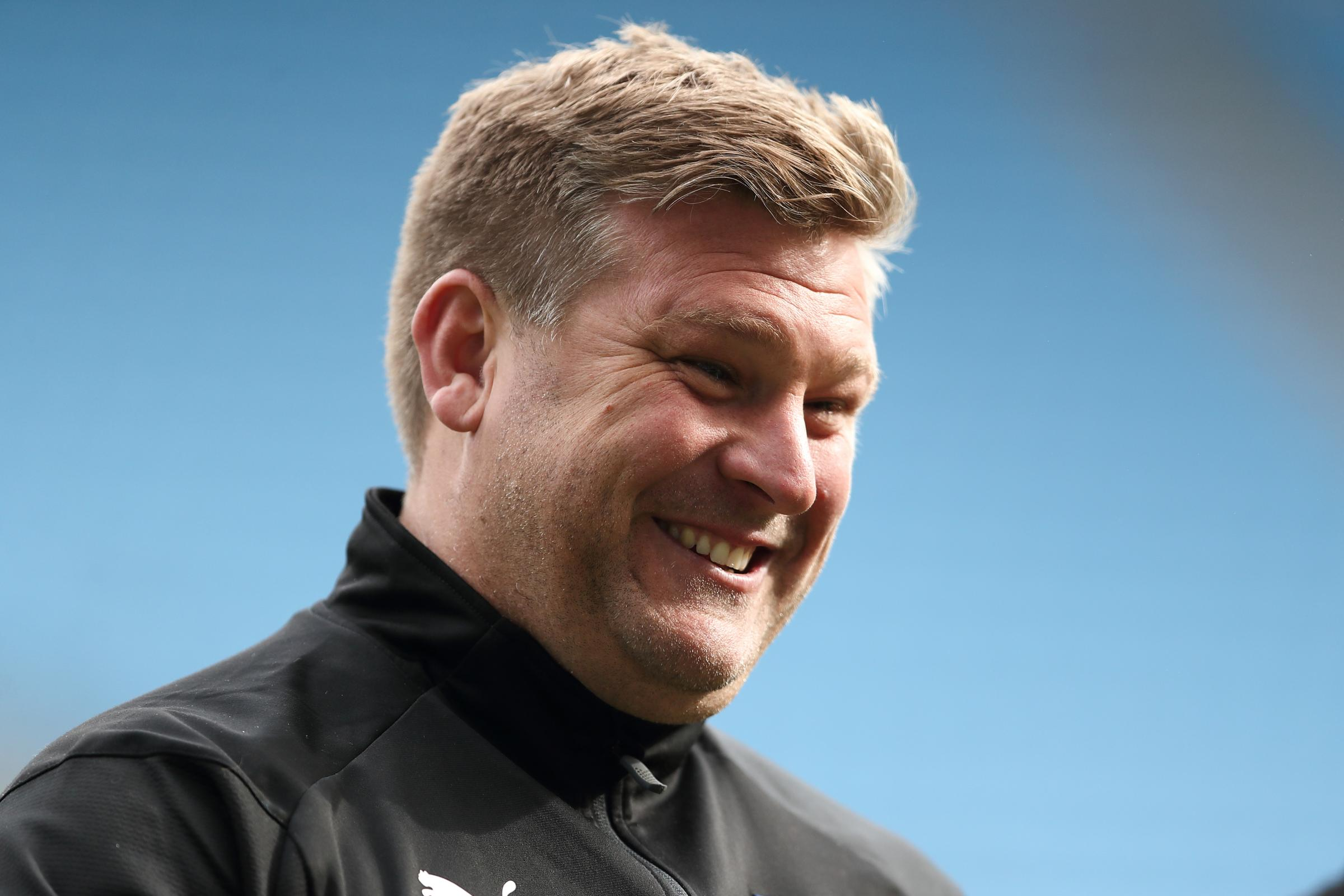 Karl Robinson guided Oxford United to four wins out of six games in March  Picture: James Williamson