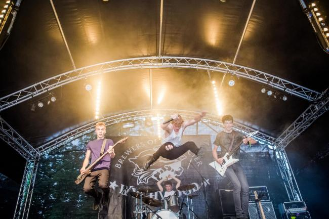Twisted State of Mind at Witney Music Festival Picture: Jakob Tungelund