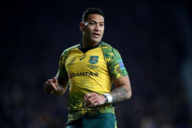 Israel Folau has been sacked by Rugby Australia