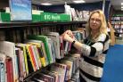 Kim Kearny, group library manager for Abingdon Picture: Oxfordshire County Council