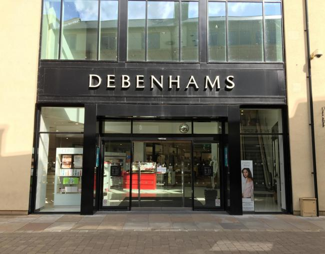 Debenhams in Marriotts Walk is set to close next year Picture: James Roberts