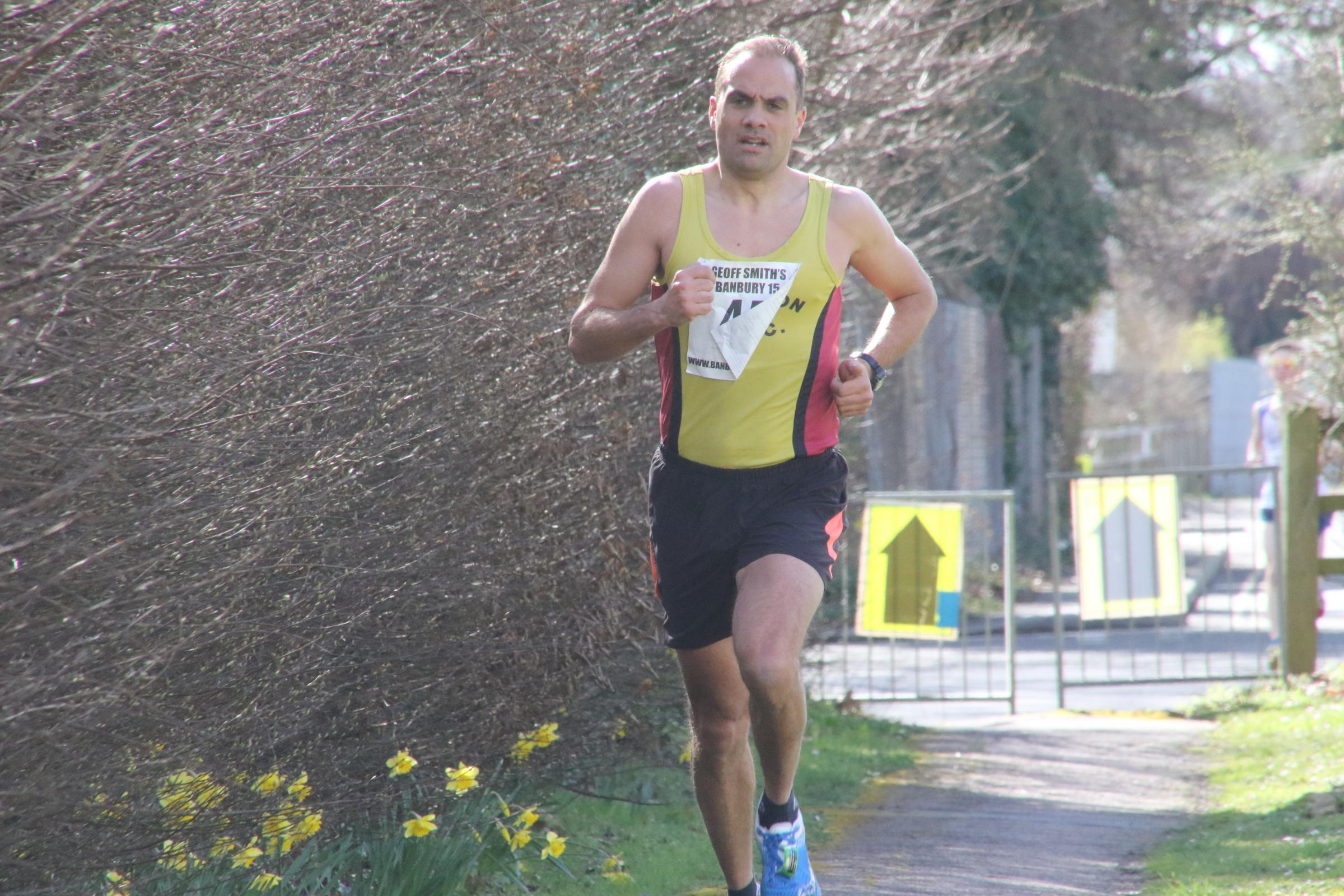 Abingdon's Paul Fernandez finished 318th in the London Marathon Picture: Barry Cornelius