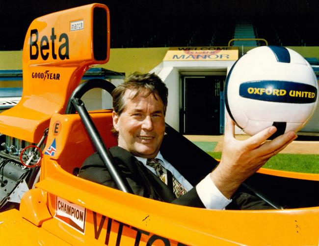 Robin Herd became Oxford United chairman in 1995 Picture: David Fleming
