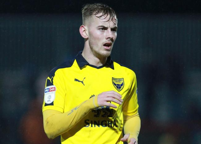 Mark Sykes signed for Oxford United from Glenavon in January 2019   Picture: Richard Parkes